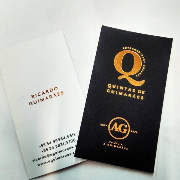 cartão de luxo